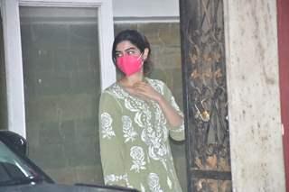 Khushi Kapoor spotted at Pilates