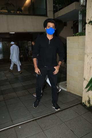 Anil Kapoor snapped at a clinic in Bandra