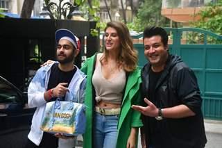 Varun Sharma, Manjot Singh, Elnaaz Norouzi snapped at the screening of Chutzpah