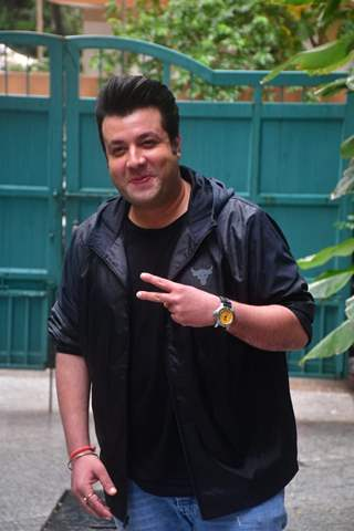 Varun Sharma snapped at the screening of Chutzpah