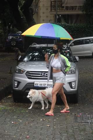 Malaika Arora snapped in Bandra