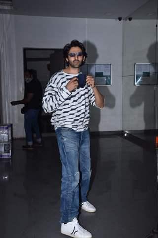 Kartik Aaryan snapped at Andheri