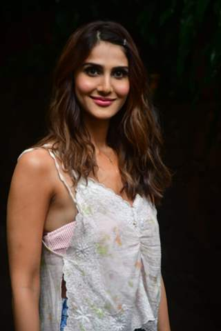 Vaani Kapoor snapped at the photoshoot of 'Chandigarh Kare Aashiqui'