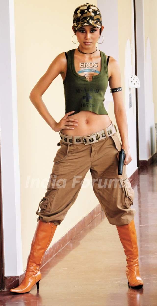 Anishka Khosla in Mr. White Mr. Black movie