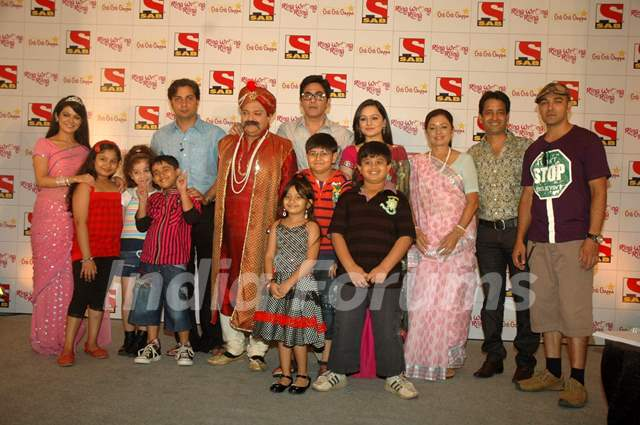SAB TV launches two new shows Ring Wrong Ring and Gili Gili Gappa at Westin Hotel. .