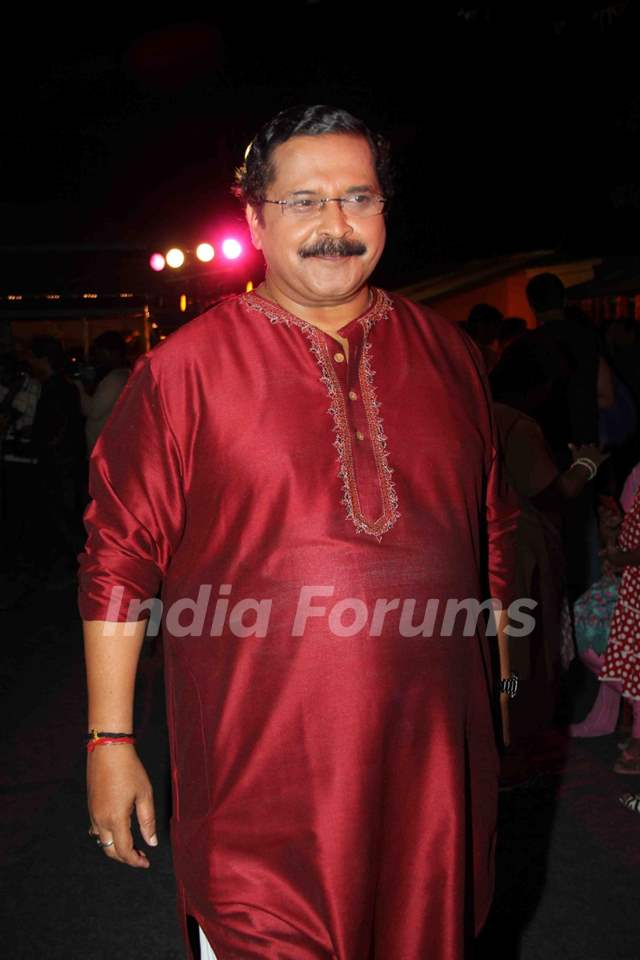 Tiku Talsania of Sab Tv celebrates World Family Day