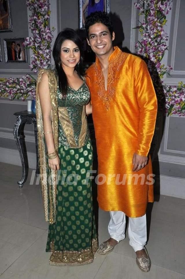 Karthik and Natasha as a newly couple