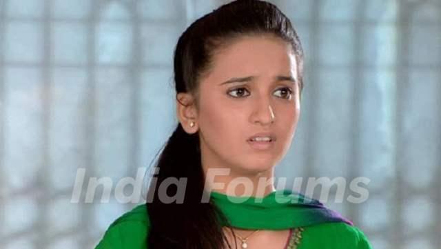 Shivani Surve Still in TV Show Navya Being Nimisha