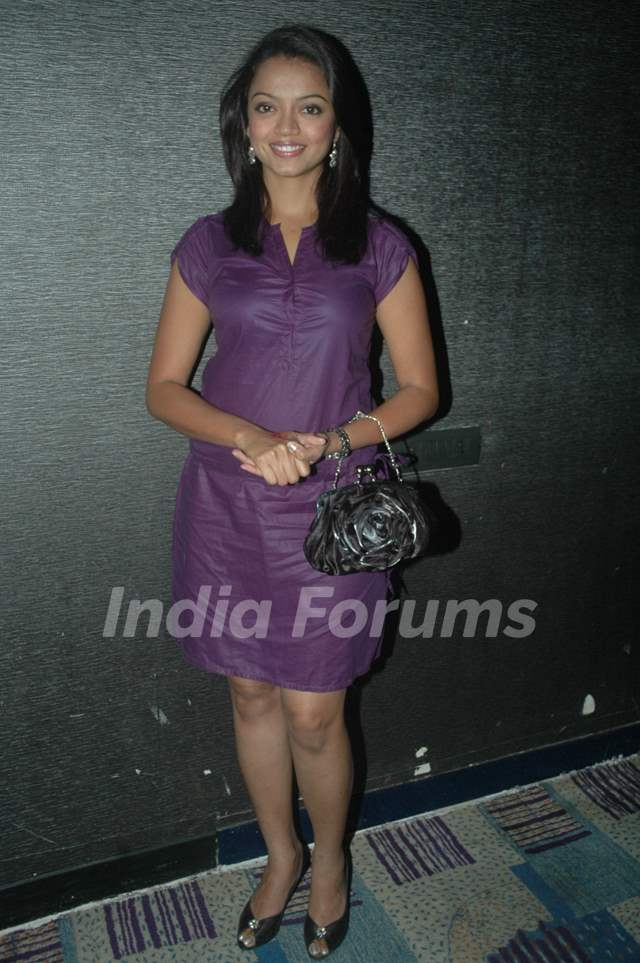 Sheetal Maulik at SAB TV show Gutur Gu success bash