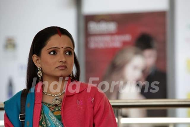 Giaa Manek aka Gopi at Switzerland in Saath Nibhana Saathiya.
