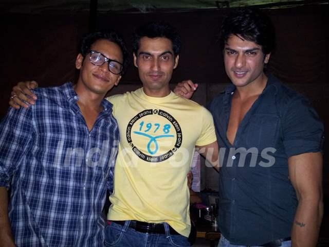 Abhishek, Kunal and Ashish