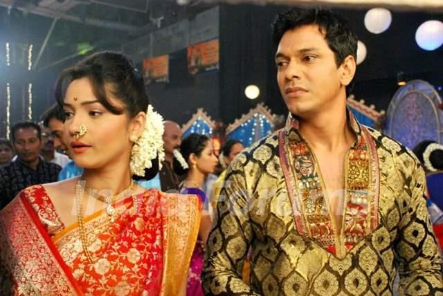 Ankita Lokhande and Mahesh Shetty