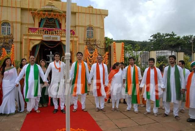 Zee Tv Stars Celebrating Republic Day