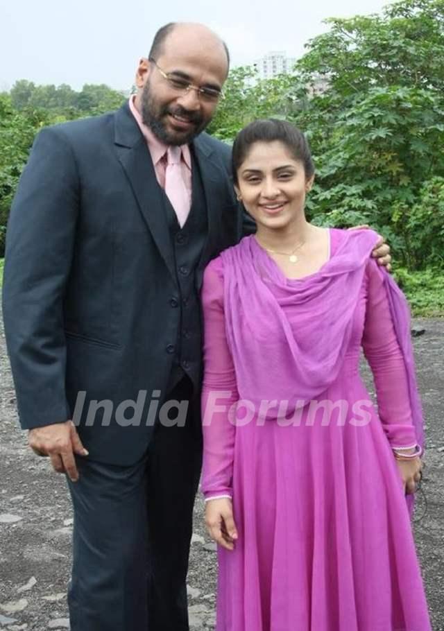 Ankita Sharma and Mohan Kapur