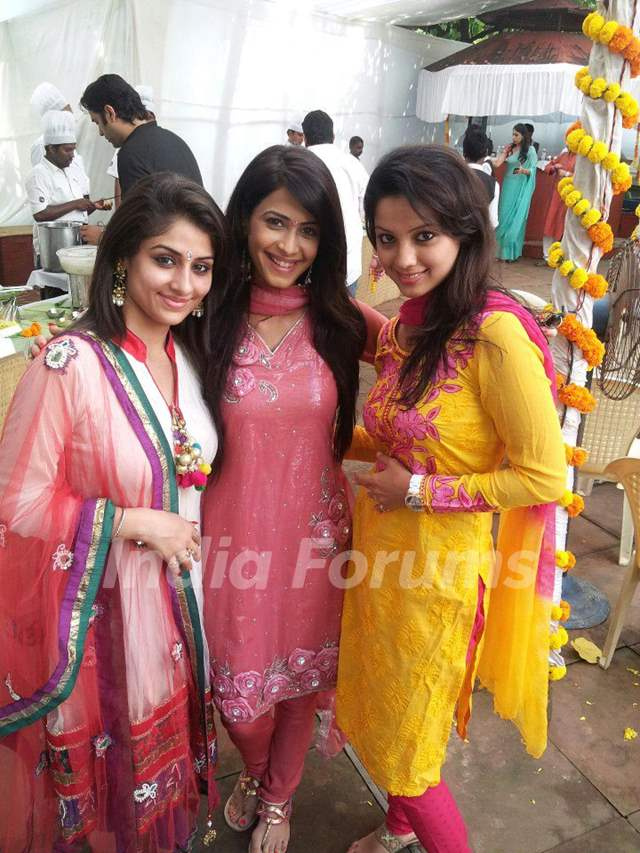Ankita, Dimple and Adaa