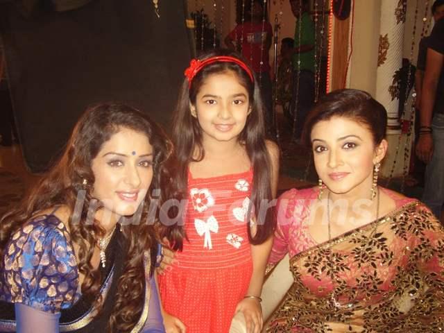 Samiksha, Anuskha and Suhasi