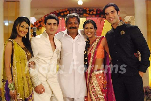 Dimple, Gautam, Mala and Kushal