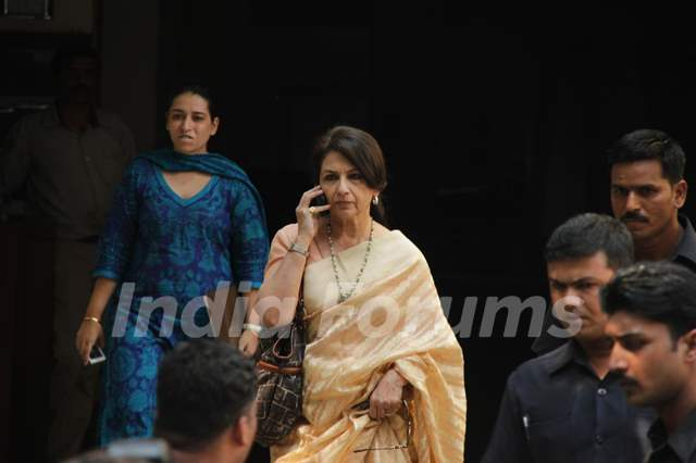 Sharmila Tagore at Saif Ali Khan with wife Kareena Kapoor ... Saif Ali Khan Wife Details