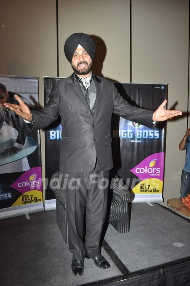 Navjot Singh Sidhu to leave Bigg Boss house press conference