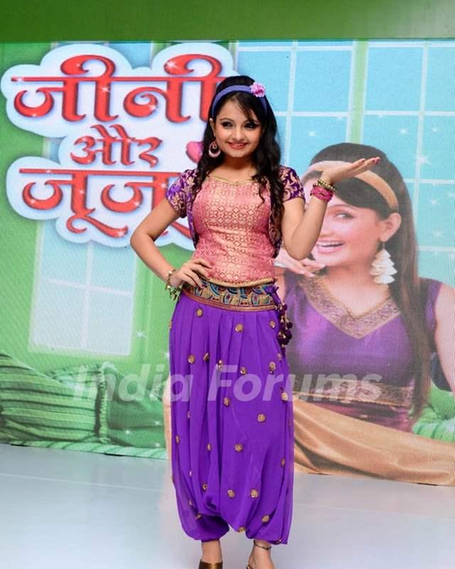 Giaa Manek at 'Jeannie Aur Juju' launch event