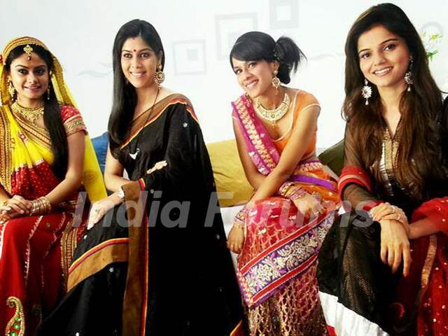 Rubina ,Nia ,Toral and Saakshi