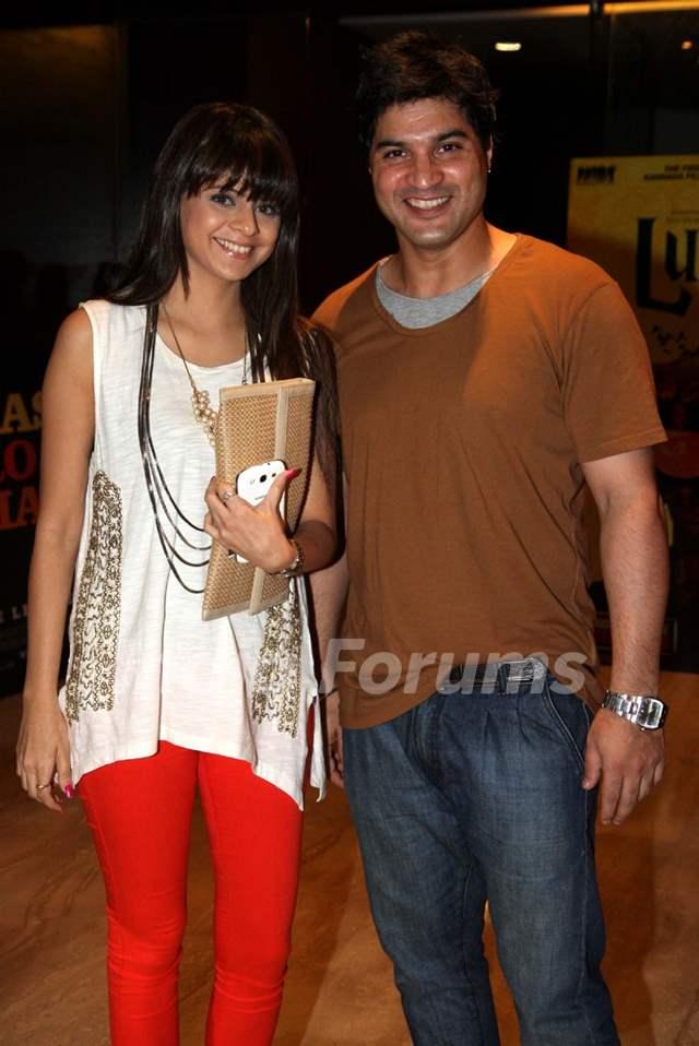 Rucha Gujrati & Vikas Sethi were at the Premier of Hollywood film Riddick