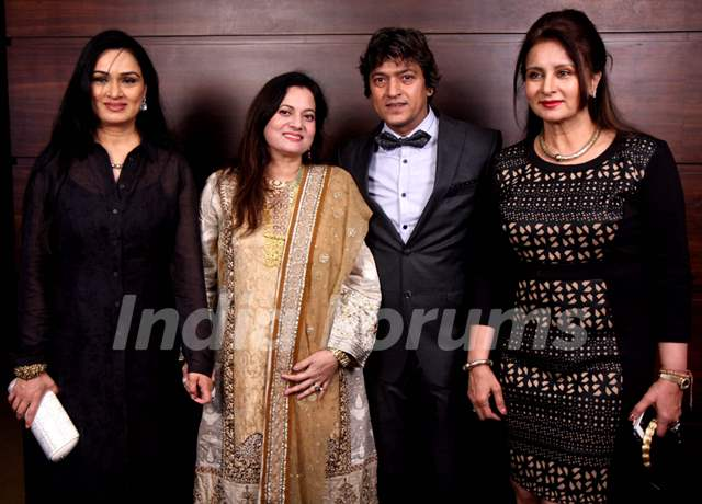 Padmini Kohlapure and Poonam Dhillon were seen at Adesh Shrivastava's Birthday Party