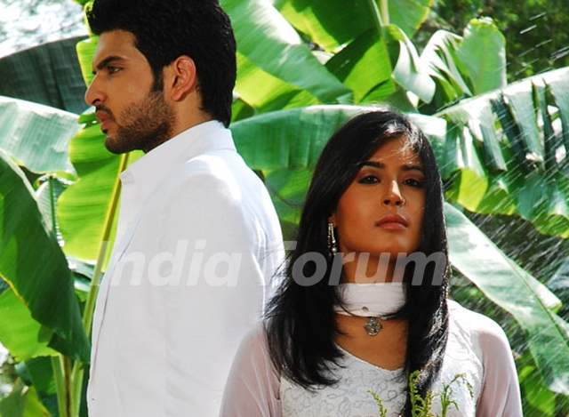 A still image of Arohi and Arjun