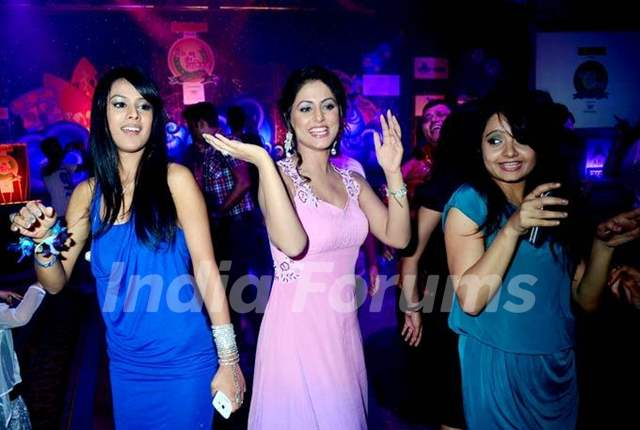 Gia Manek Hina Khan and Nia Sharma