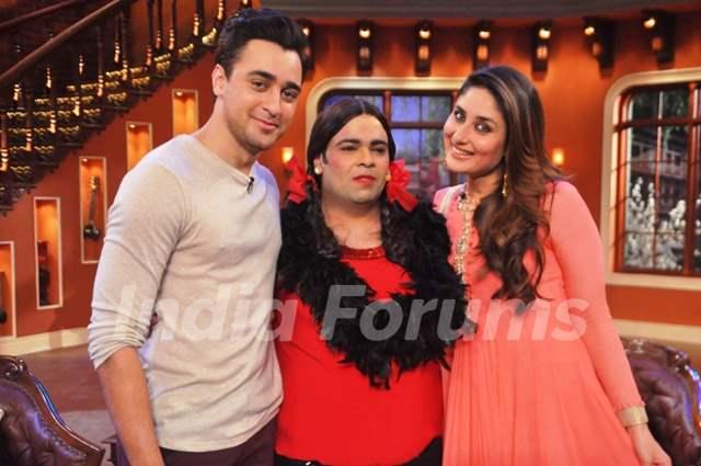 Imran and Kareena on Comedy Nights with Kapil