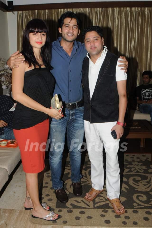 Gauri and Hiten Tejwani were at Kaushik Banerjee's Birthday Bash