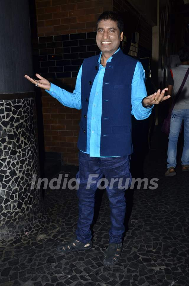 Raju Shrivastav was at the Launch of Zee TV's 'Gangs of Hasseepur'