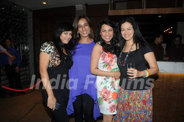 Suman Shashikant, Deeya Singh, Tuhina Vohra, & Jyoti Gauba at the party