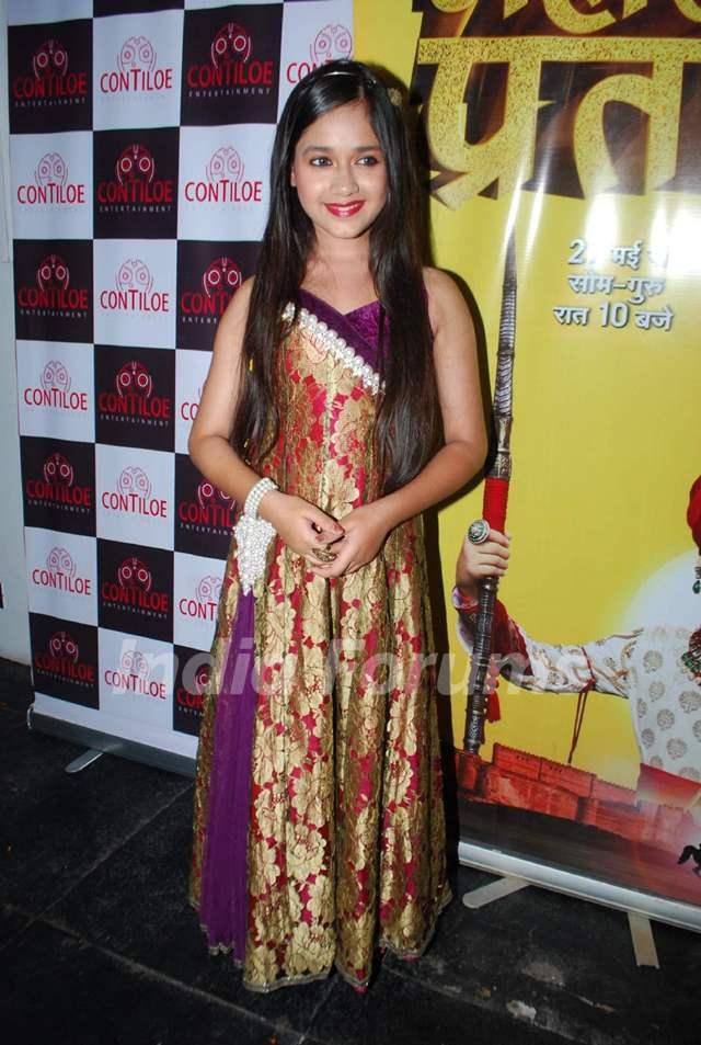 Jannat Zubair Rahmani was at the Maharana Pratap celebrates the completion of 200 episodes