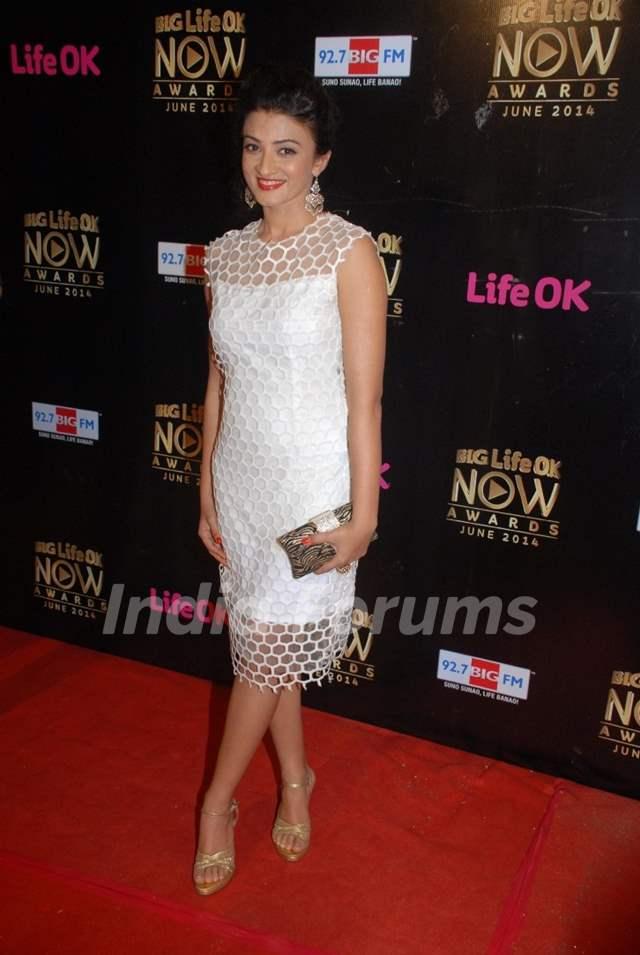 Suhasi Dham at Life OK Now Awards .