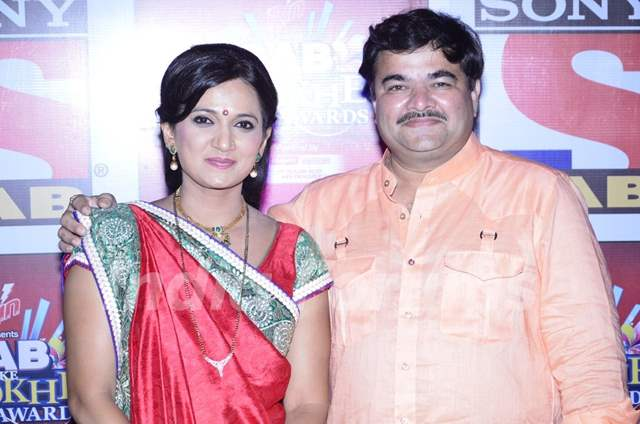 Kavita Laad and Prashant Damle was seen at the SAB Ke Anokhe Awards