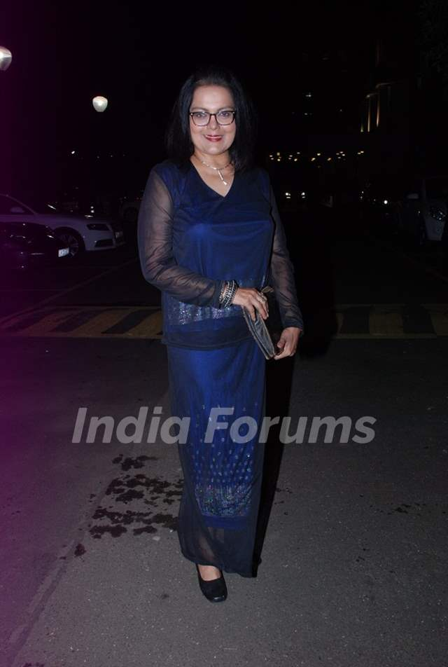 Sushmita Mukherjee at the Success Bash of Mahabharat