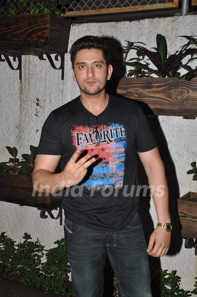 Shaad Randhawa poses for the media at the Premier of 3AM