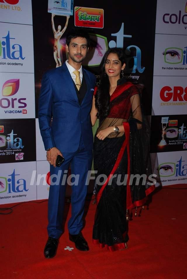 Shakti Arora & Neha Saxena were at the ITA Awards 2014