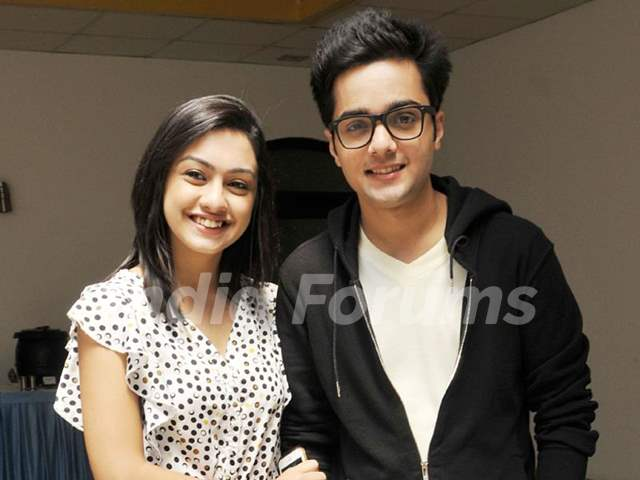 Aakarshan Singh with Abigail Jain