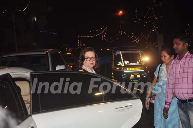 Babita Kapoor was snapped at Christmas Bash