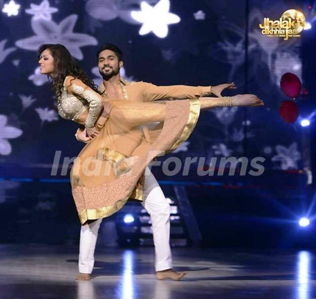 Drashti Dhami and Salman Yusuf Khan