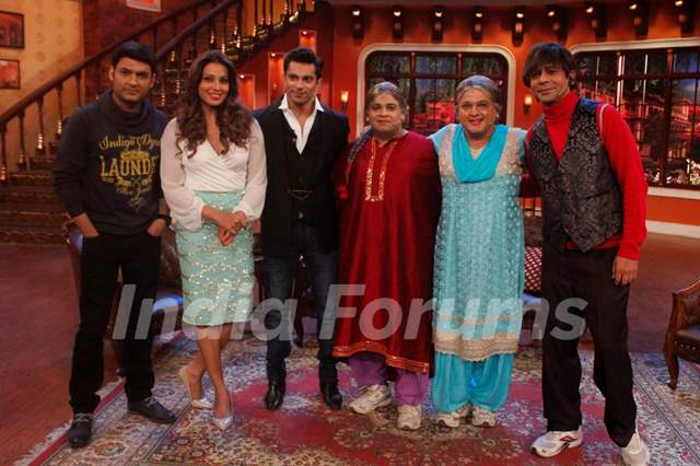 Promotions of Alone on Comedy Nights with Kapil