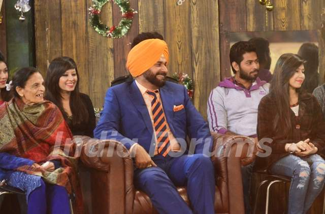 Team of Comedy Nights with Kapil inside Bigg Boss 8 House