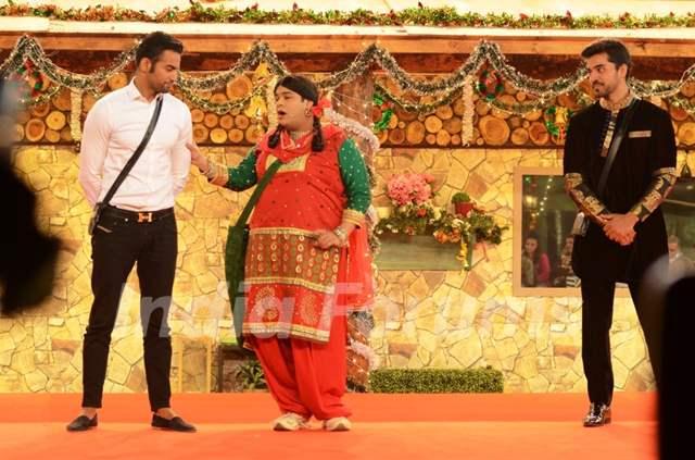 Kiku Sharda aka Palak performs an act inside Bigg Boss 8 House