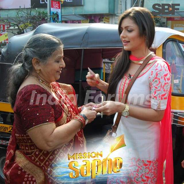 Drashti Dhami in Mission Sapne