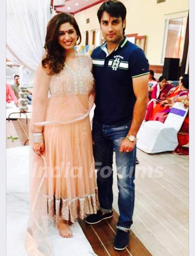 Vivian Dsena with Vahbbiz Dorabjee Dsena