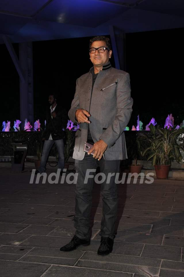Aadesh Shrivastava at the Smita Thackerey's Son's Wedding Reception