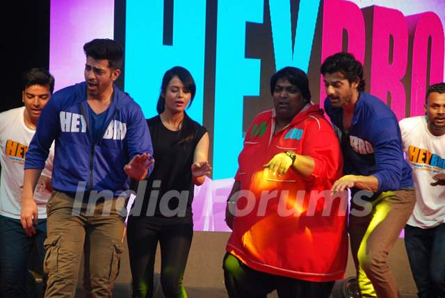 Team of Hey Bro performs at the Promotions