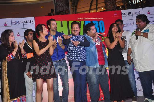 Team at the Promotions of Hey Bro